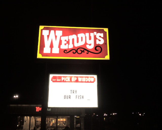 Try Our Fish - Wendy's