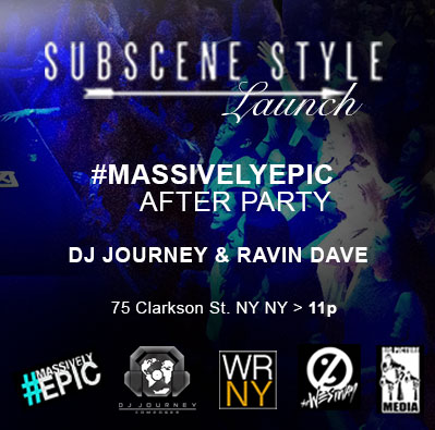 #Welcometosubscenestyle #massivelyepic #afterparty